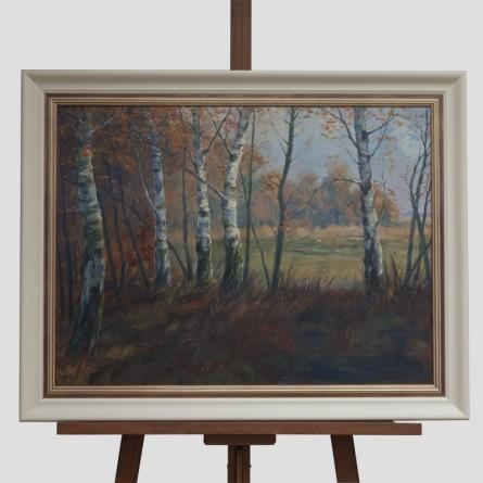 Fritz Stark - Am Waldrand - Ölgemälde - Galerie Teyssen - Bremerhaven