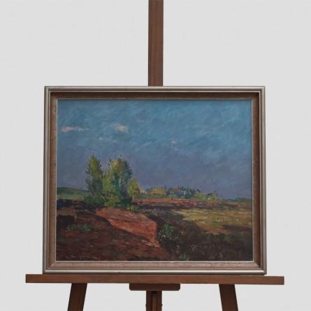 Paul-Ernst Wilke - Moorstück - Ölgemälde - Galerie Teyssen - Bremerhaven