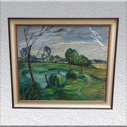 Hans Jacoby Ölgemälde, gerahmt, 65 cm x 75 cm, 1150,- €