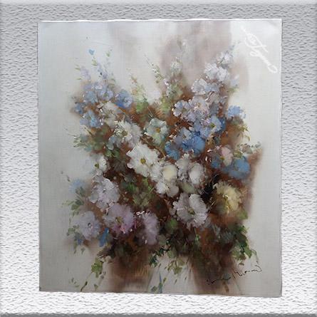 Ingfried Henze-Morro Ölgemälde, ungerahmt, 70 cm x 60 cm, 780,- €
