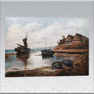 Dieter-Lukas-Larsen: Küstenlandschaft